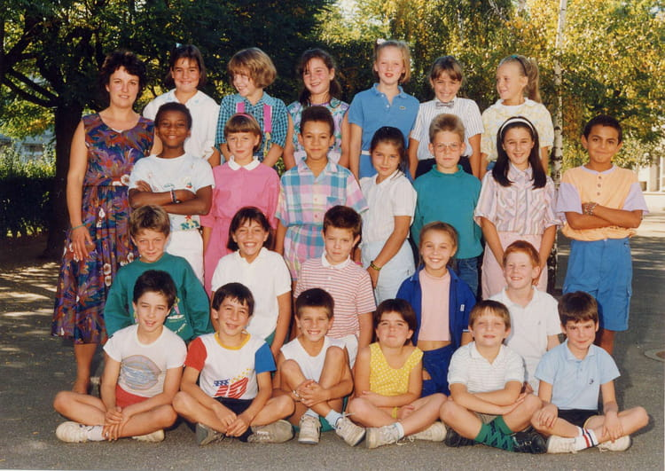 photo de classe cm1 de 1988 ecole alsace lorraine copains d 39 avant. Black Bedroom Furniture Sets. Home Design Ideas
