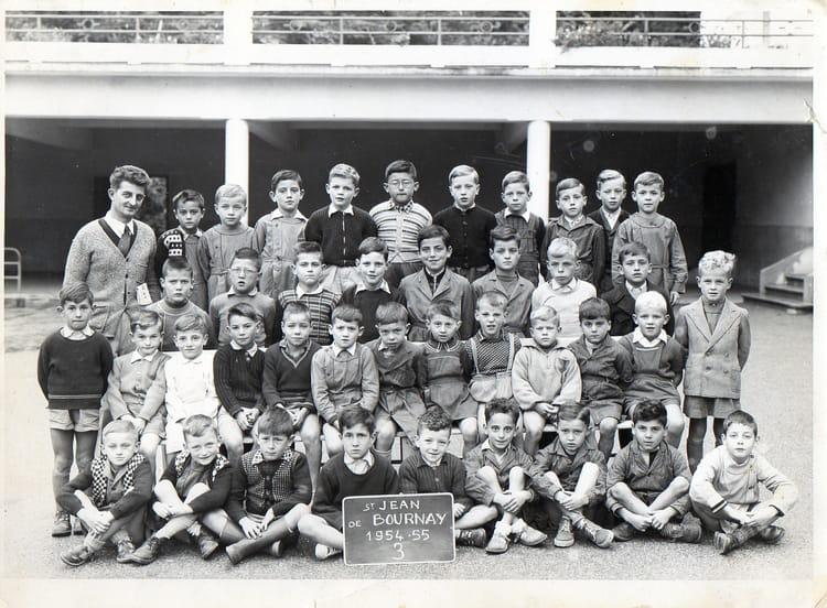 photo de classe st jean de bournay 1954 1955 3 de 1954 ecole primaire saint jean de bournay. Black Bedroom Furniture Sets. Home Design Ideas