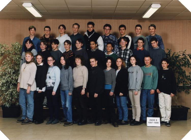 Photo De Classe 2nde 8 De 1998  Lyc U00e9e Jehan De Beauce