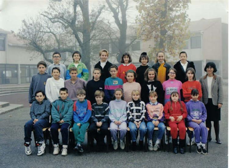 photo de classe 6 176 3 de 1992 coll 232 ge porte du m 233 doc copains d avant
