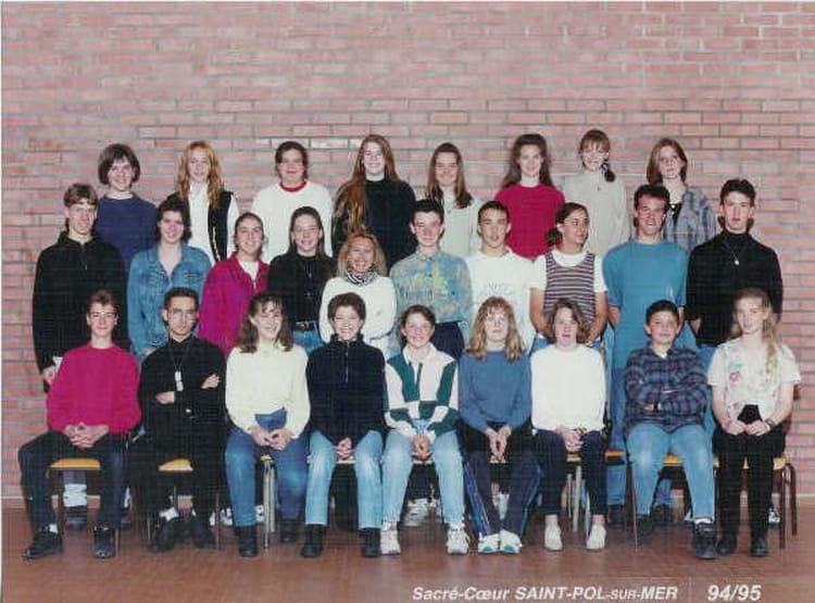 Photo de classe 3 me de 1994 ecole sacre coeur saint pol - Cabinet radiologie saint pol sur mer ...