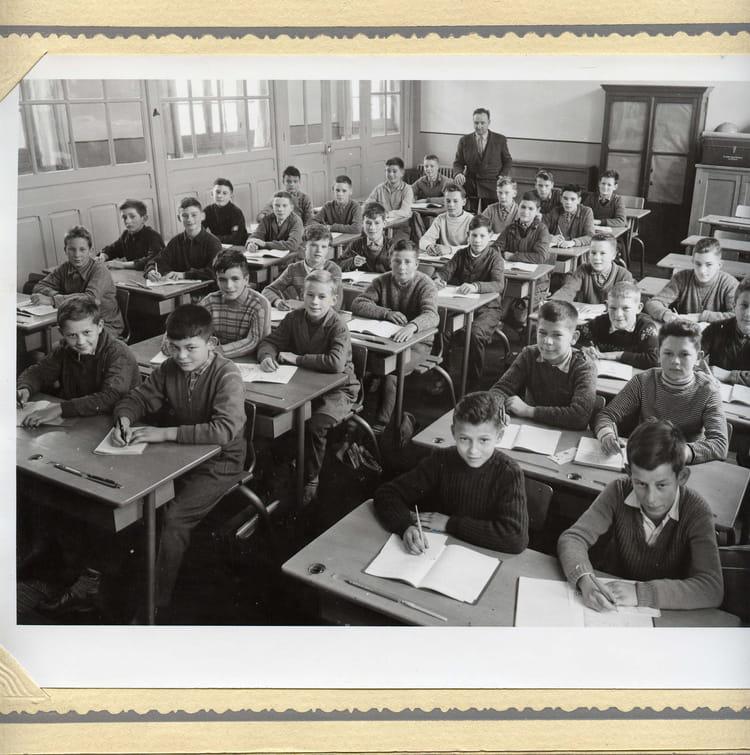 Photo de classe classe de mr tiber de 1959 ecole wilson dole copains d 39 avant - Mr bricolage dole ...