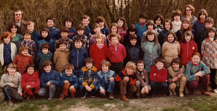Photo de classe cole primaire maisons en champagne de for Maison en champagne