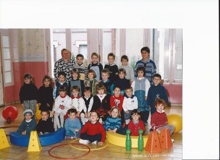 photo de classe photo de classe 1995 1996 de 1995 ecole sainte therese auxerre copains d 39 avant. Black Bedroom Furniture Sets. Home Design Ideas