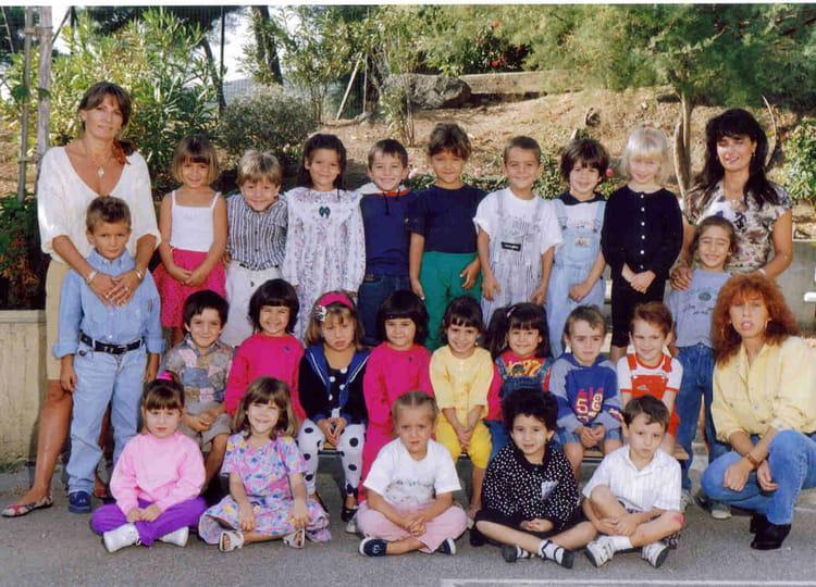 photo de classe maternelle grand de 1992 ecole louis pecout la ciotat copains d 39 avant. Black Bedroom Furniture Sets. Home Design Ideas