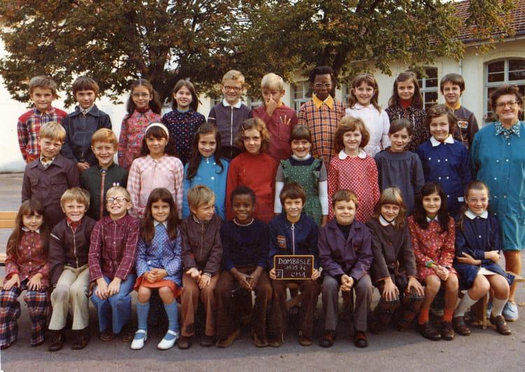 photo de classe cm1 75 76 de 1975 ecole jean rostand dombasle sur meurthe copains d 39 avant. Black Bedroom Furniture Sets. Home Design Ideas
