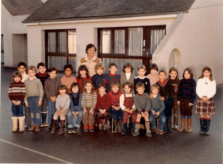 photo de classe cp de 1981 ecole carnot la chapelle la reine copains d 39 avant. Black Bedroom Furniture Sets. Home Design Ideas