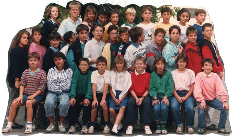 photo de classe 5 me bleue de 1987 cole jeanne d copains d 39 avant. Black Bedroom Furniture Sets. Home Design Ideas