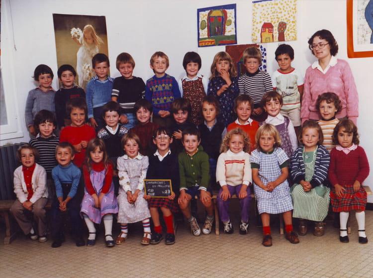 photo de classe grande section 1980 81 de 1981 ecole nazareth chavagnes en paillers copains. Black Bedroom Furniture Sets. Home Design Ideas