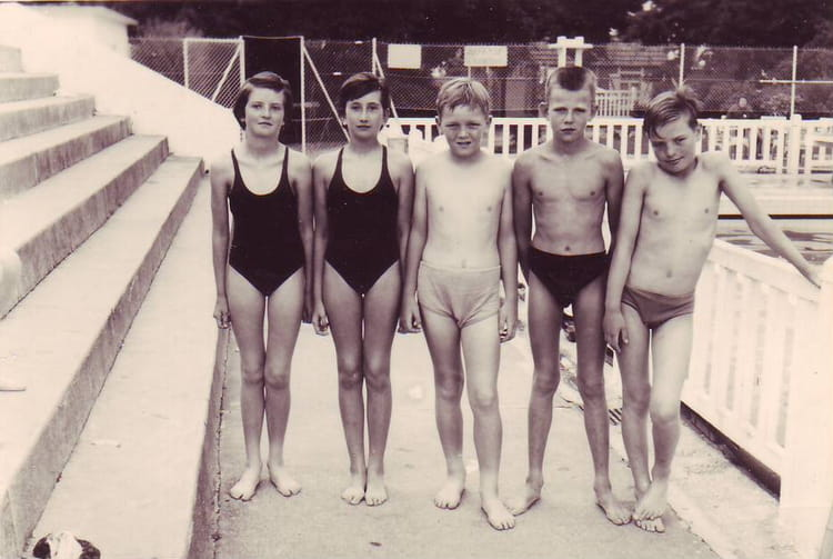 Photo De Classe Ancienne Piscine De SottevilleLsRouen De