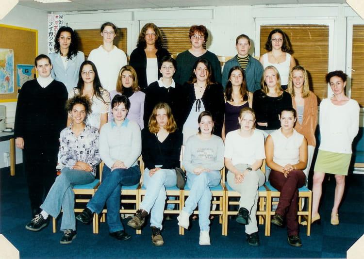 Photo de classe bac pro vm de 1998 lyc e professionnel for Programme bac pro cuisine