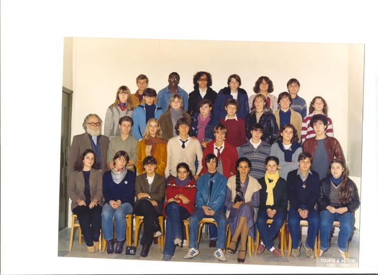 Photo de classe terminale 1980 1981 lyc e du sacr coeur - Lycee salon de provence ...
