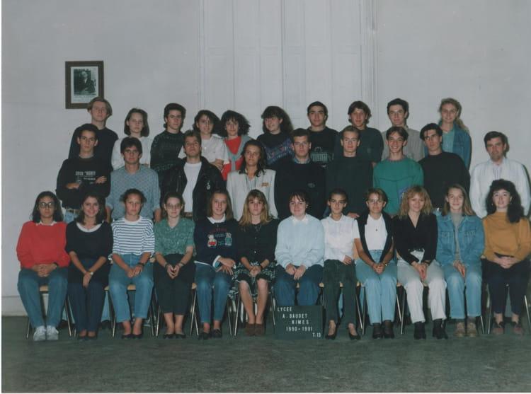 Photo de classe t d 13 de 1991 lyc e alphonse daudet for Lycee alphonse daudet