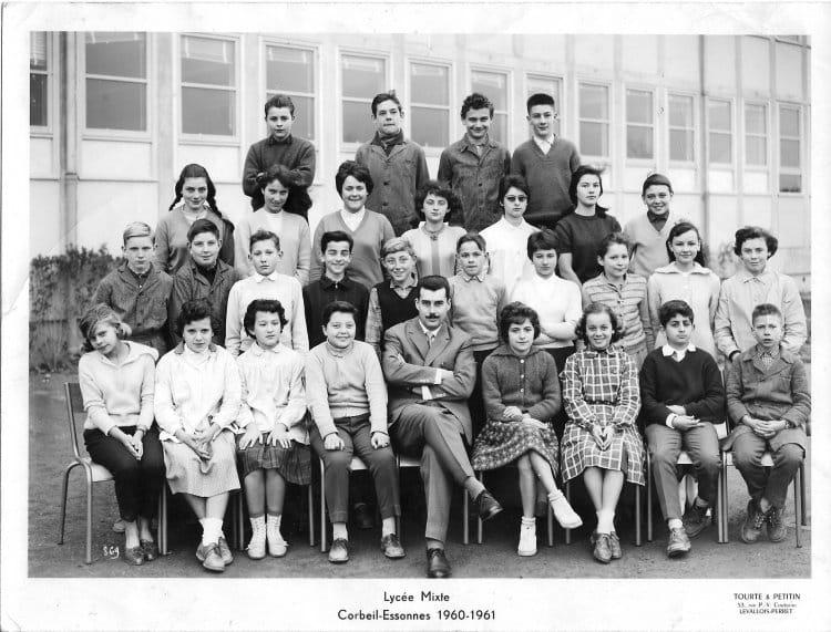 Photo De Classe 4 M 2 De 1960 Lycee De Corbeil Copains D Avant