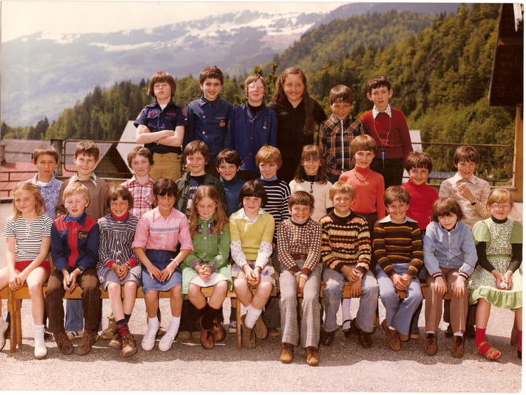 Photo de classe cm1 77 78 de 1977 ecole du capitaine - Beaufort sur doron office du tourisme ...