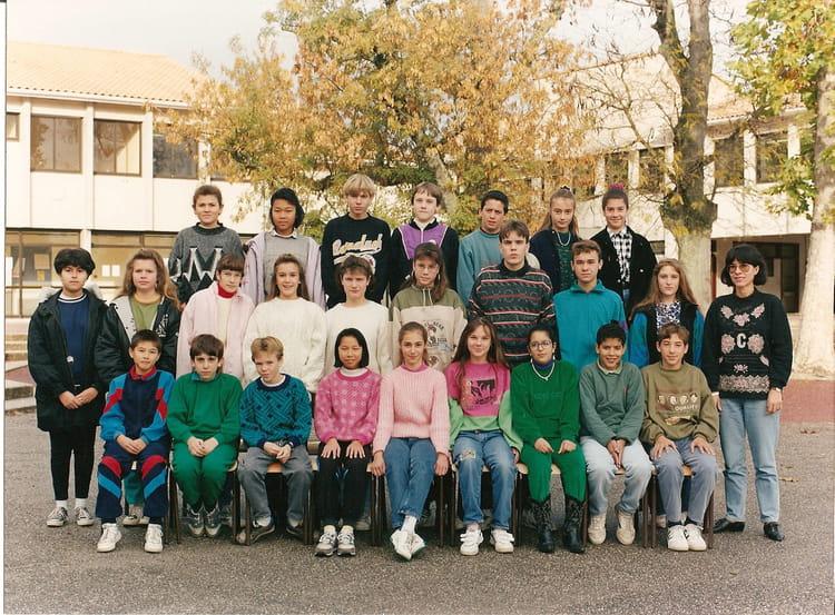 photo de classe 5 3 de 1992 coll 232 ge porte du m 233 doc copains d avant