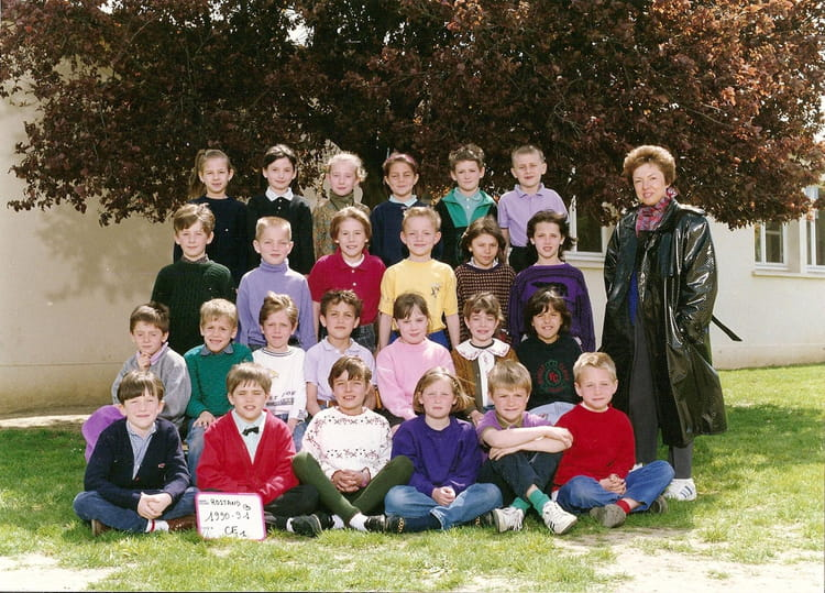 Photo de classe ce1 de 1991 ecole edmond rostand for Domon plan b