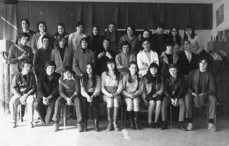 Photo de classe 2 me ab3 de 1970 lyc e professionnel adam - Lycee craponne salon ...