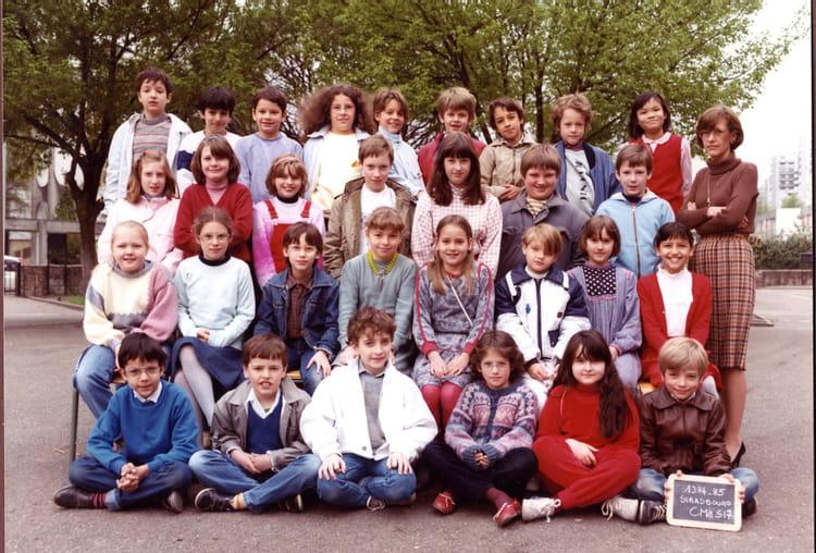 photo de classe cm1 ecole j sturm la bleue de 1985 ecole jacques sturm copains d 39 avant. Black Bedroom Furniture Sets. Home Design Ideas