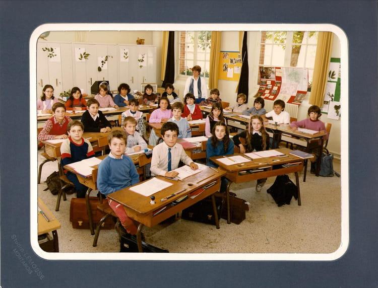 photo de classe cm2 de 1984 ecole les raboliots jouy le potier copains d 39 avant. Black Bedroom Furniture Sets. Home Design Ideas