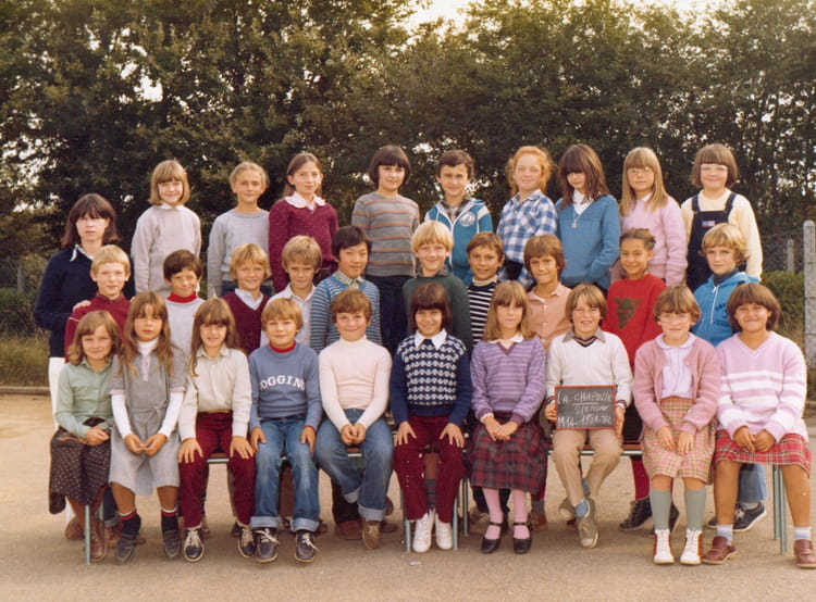photo de classe cm1 de 1981 ecole beau soleil la. Black Bedroom Furniture Sets. Home Design Ideas