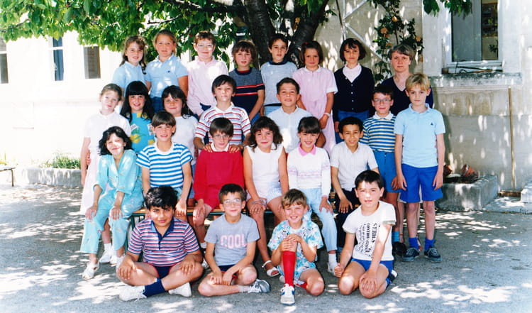 photo de classe ce2 de 1987 ecole etoile sur rhone copains d 39 avant. Black Bedroom Furniture Sets. Home Design Ideas