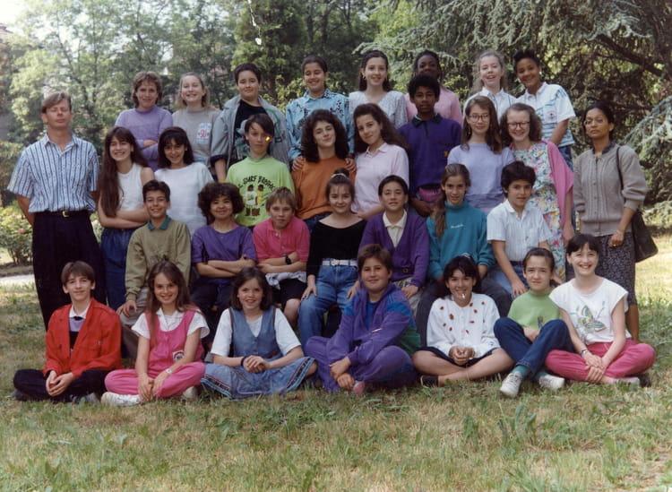 photo de classe 6 232 me mauve de 1990 coll 232 ge jean baptiste de la salle copains d avant