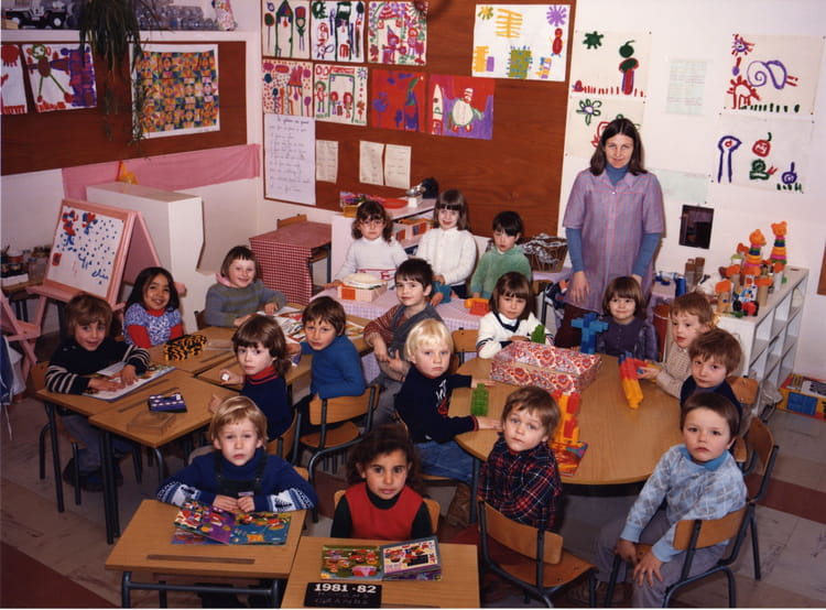 photo de classe maternelle de 1982 ecole l on gambetta saint dizier copains d 39 avant. Black Bedroom Furniture Sets. Home Design Ideas