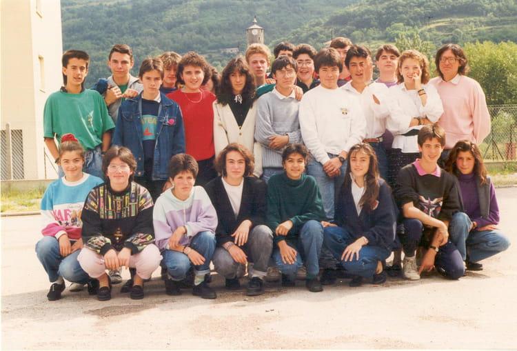 Photo de classe coll ge du sabarth s tarascon sur ari ge - Office du tourisme de tarascon sur ariege ...
