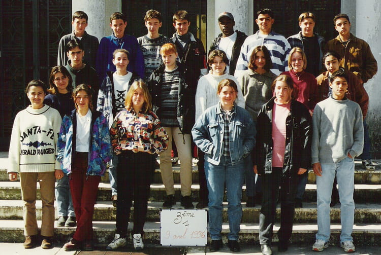 photo de classe 3 me1 de 1996 coll ge andr chamson copains d 39 avant. Black Bedroom Furniture Sets. Home Design Ideas