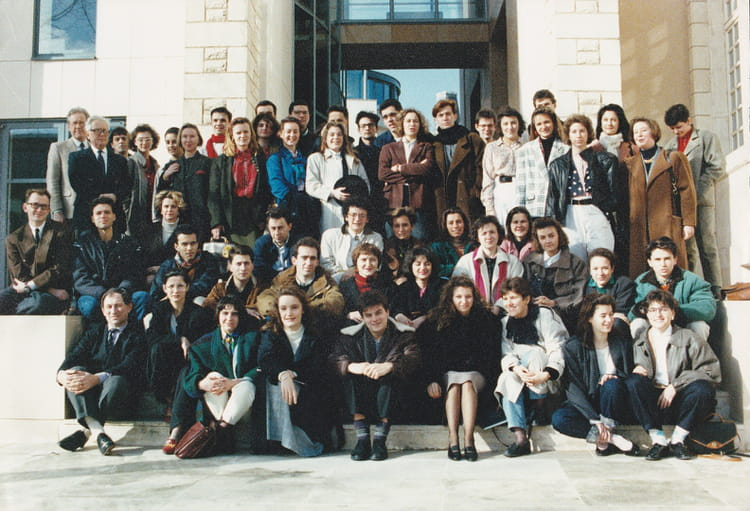 photo de classe promo 90 esc poitiers de 1990 ecole sup rieure de commerce et de management. Black Bedroom Furniture Sets. Home Design Ideas