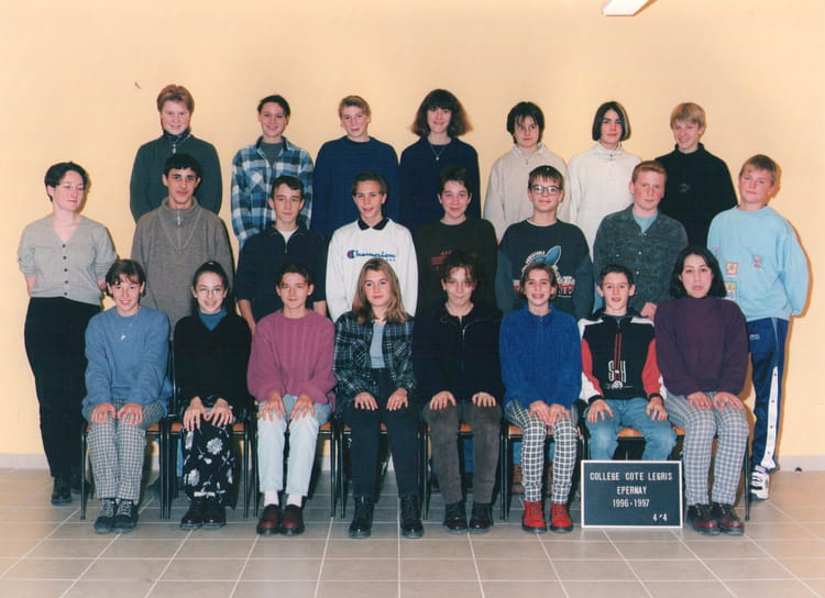 photo de classe 4eme 4 de 1996 coll ge c te legris copains d 39 avant. Black Bedroom Furniture Sets. Home Design Ideas