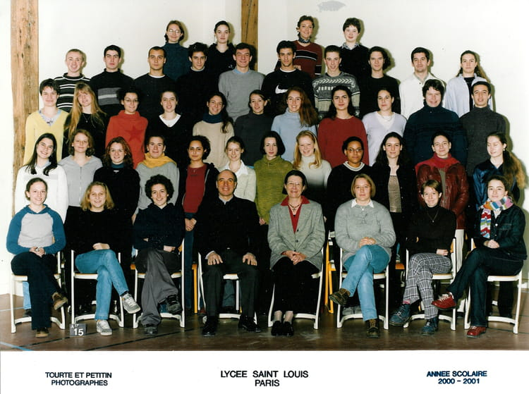 Photo de classe pr pa v to de 2000 lyc e saint louis for Ecole decorateur interieur paris