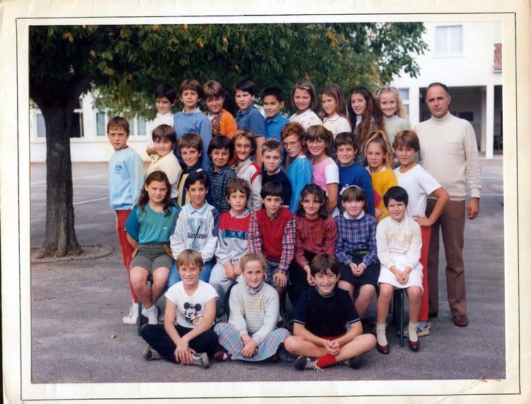 photo de classe cm2 de 1985 ecole jean mace copains d 39 avant. Black Bedroom Furniture Sets. Home Design Ideas