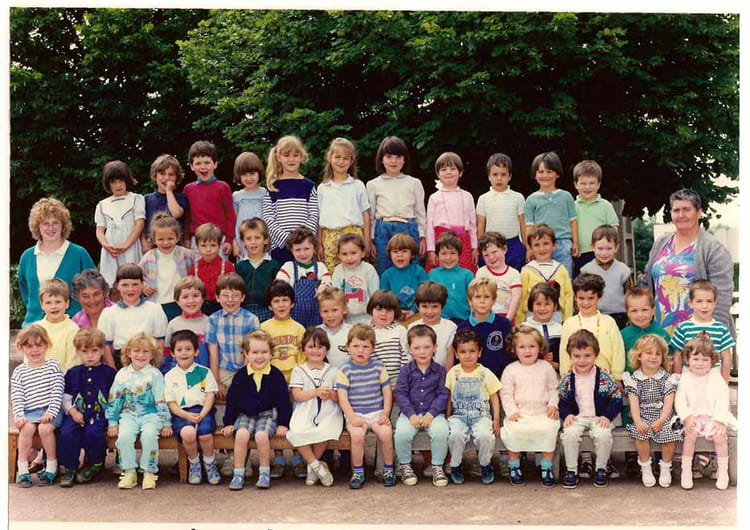 photo de classe maternelle de 1987 ecole cherbuet saint vincent de boisset copains d 39 avant. Black Bedroom Furniture Sets. Home Design Ideas