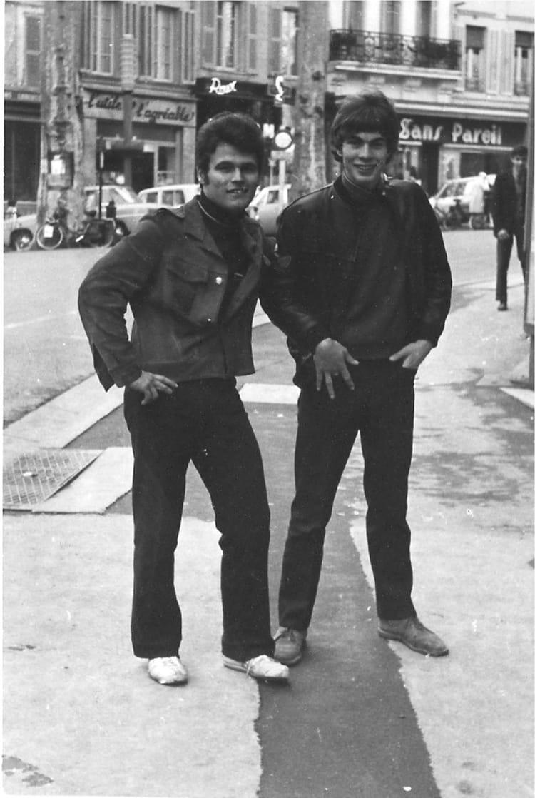 Photo de classe 2eme ann e meca auto de 1968 lyc e - Lycee craponne salon ...