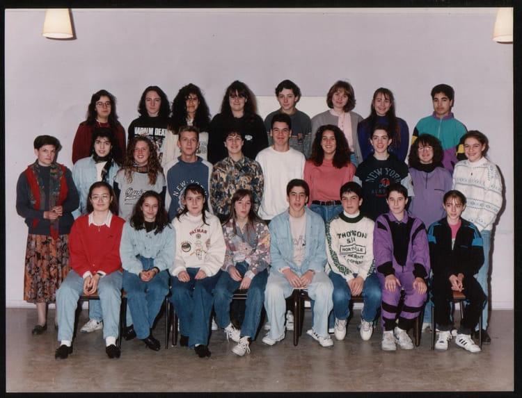 Photo de classe 3e 19911992 de 1991, Collège Saint  ~ College Rosny Sous Bois
