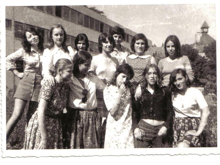 Photo de classe 1ère année BEP AA de 1971, Itecboisfleury  ~ Itec Bois Fleury