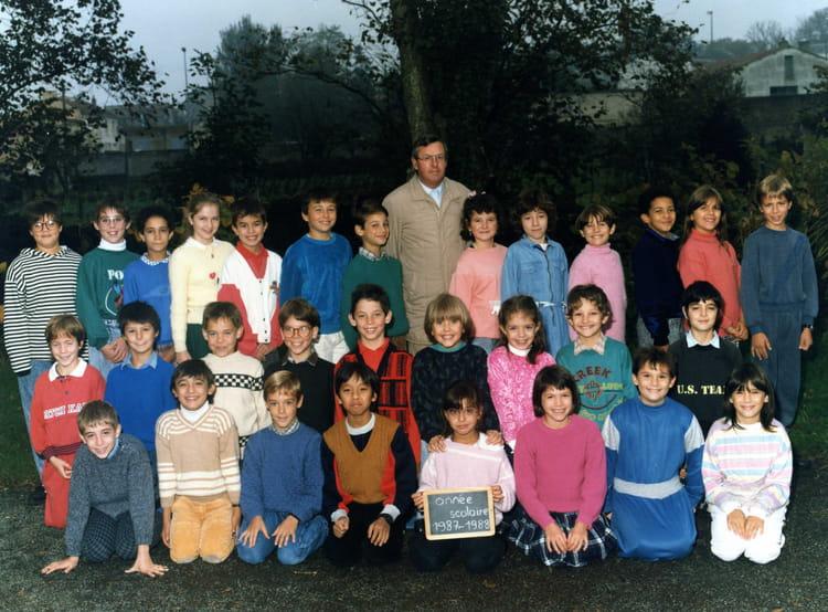 Photo de classe cm1 de 1987 ecole pont boileau la roche - Cours cuisine la roche sur yon ...