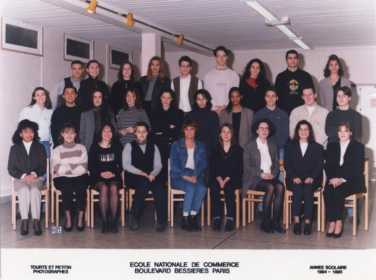 photo de classe bts action commerciale de 1994 ecole nationale de commerce bessieres copains. Black Bedroom Furniture Sets. Home Design Ideas