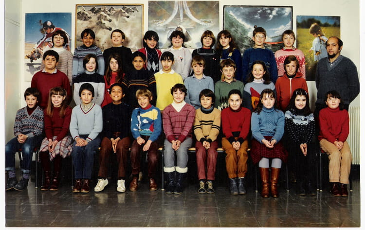 photo de classe cm2 de 1983 ecole le tricot villefranche de rouergue copains d 39 avant. Black Bedroom Furniture Sets. Home Design Ideas