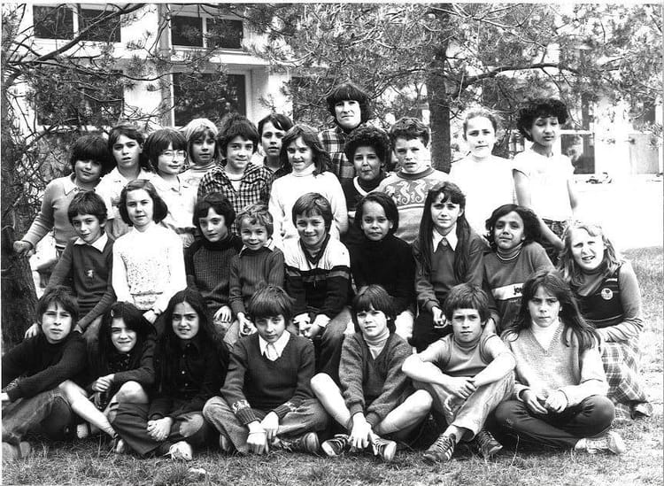 Photo de classe CM1 de 1980, Ecole Jean Jaures (Sainte Genevieve Des Bois) Copains d'avant # Auto Ecole Sainte Genevieve Des Bois