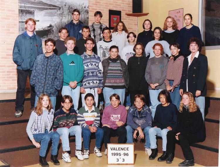 Photo de classe 3e3 valence d 39 agen 1995 1996 de 1996 coll ge jean rostan - Villeroy et boch valence d agen ...