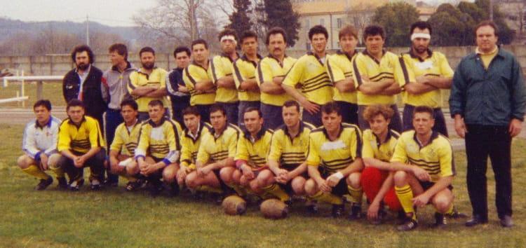 photo de classe equipe b usc 1993 de 1993 usc xv
