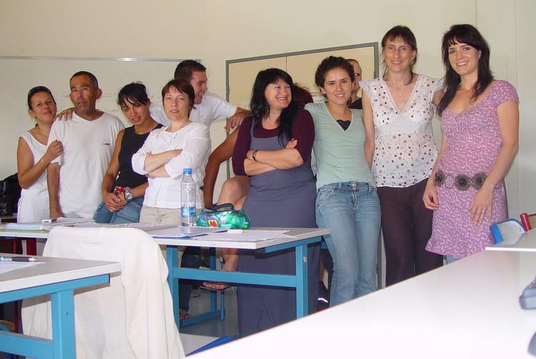photo de classe bccea de 2003, cfa de la chambre des métiers du