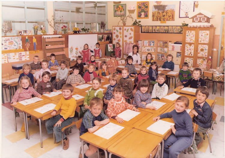 photo de classe maternelle 3 ann e de 1977 ecole des petits villemandeur copains d 39 avant. Black Bedroom Furniture Sets. Home Design Ideas