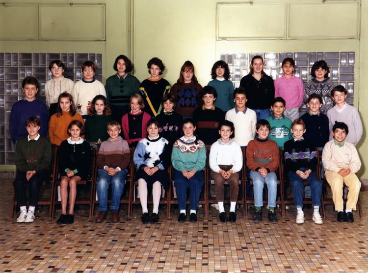 photo de classe 6 232 me 2 de 1991 coll 232 ge notre dame de la salle copains d avant