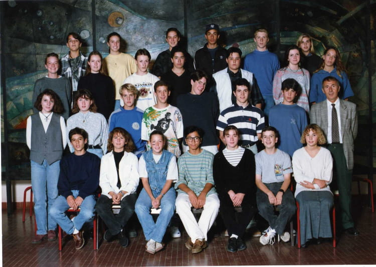 photo de classe 3 mea 1993 94 de 1993 coll ge echange copains d 39 avant. Black Bedroom Furniture Sets. Home Design Ideas