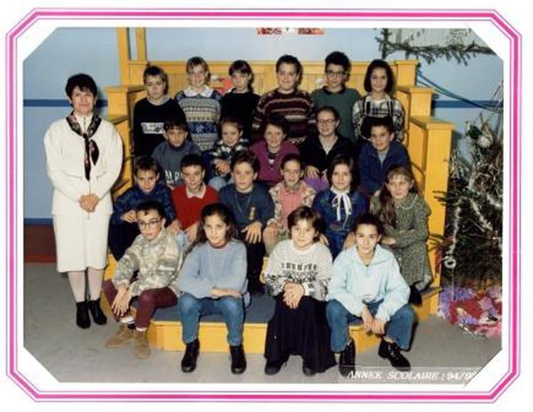 photo de classe classe cm2 94 95 de 1994 ecole groupe scolaire jean mace gueret copains d 39 avant. Black Bedroom Furniture Sets. Home Design Ideas