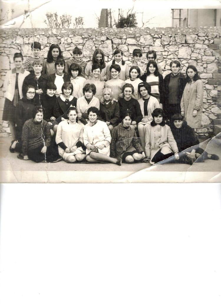 Photo de classe St Hilaire Grasse 3 ème 66/67 de 1966, Collège Saint ...